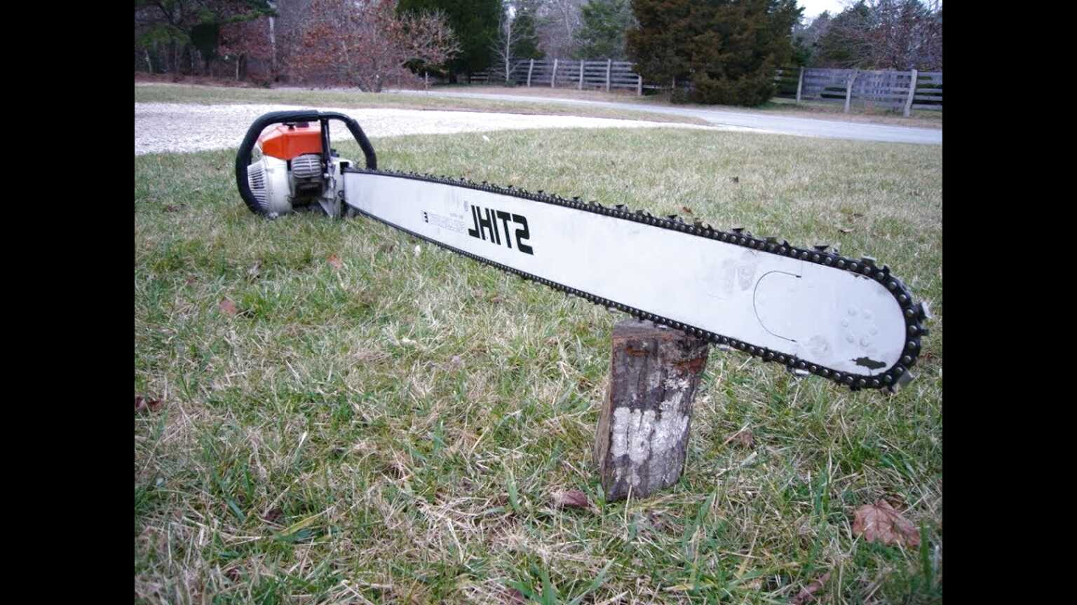 big chainsaw for sale