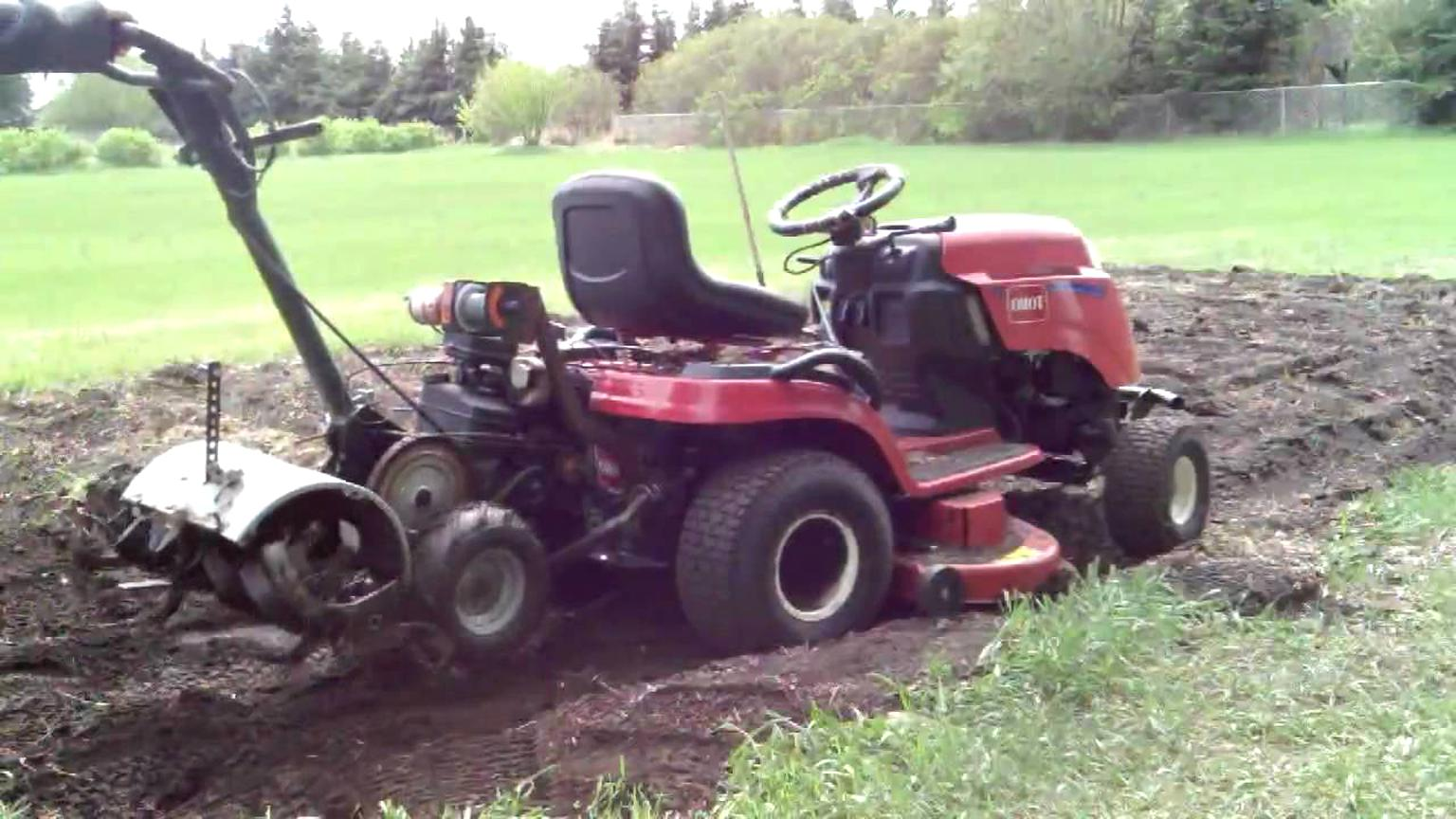 Garden Tractor Tiller For Sale Only 4 Left At 65