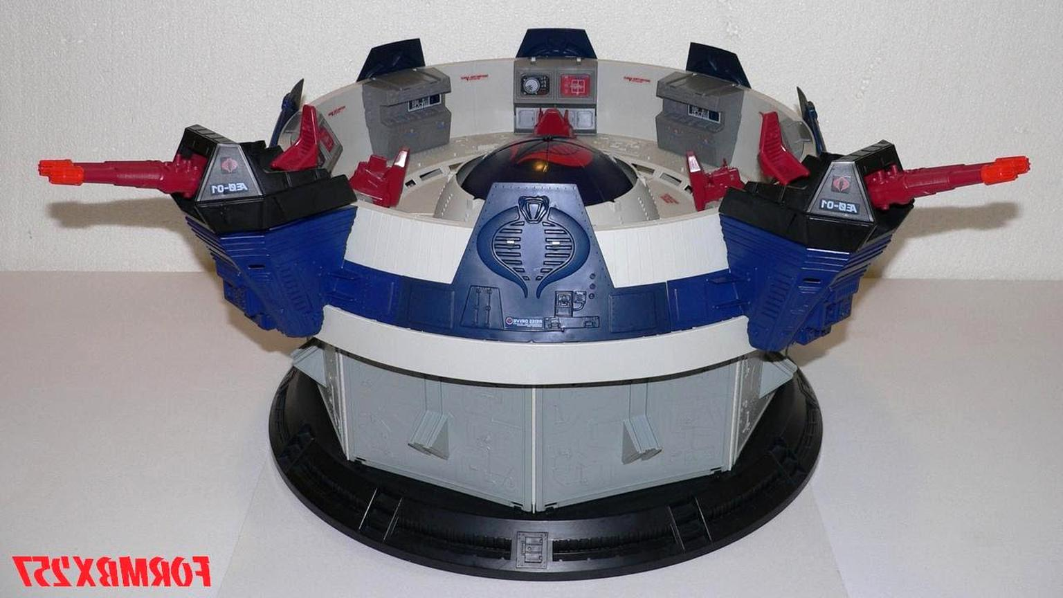 Kre-O Set Parts Pieces Playset ONLY NO FIGURES Cobra Terror Drome NO BOX