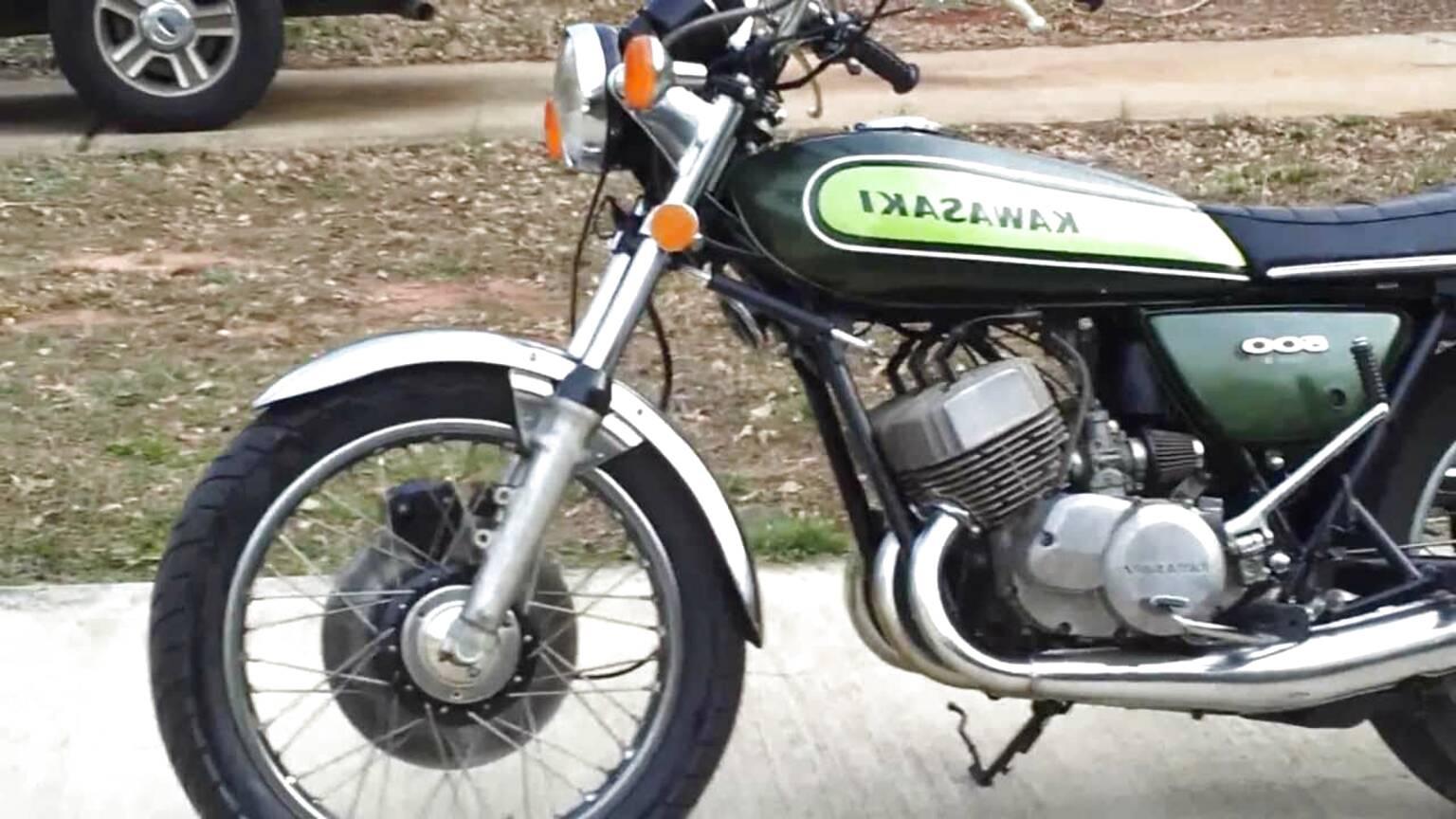 Specchi Kawasaki H1-D sinistra /& mano destra 1973