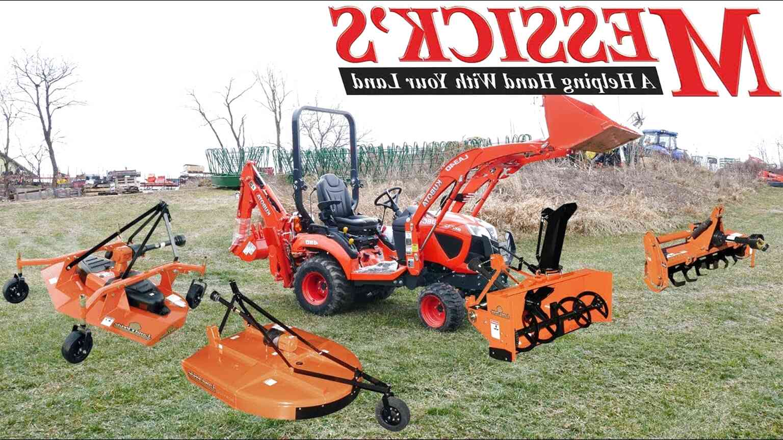 kubota tractor attachments for sale