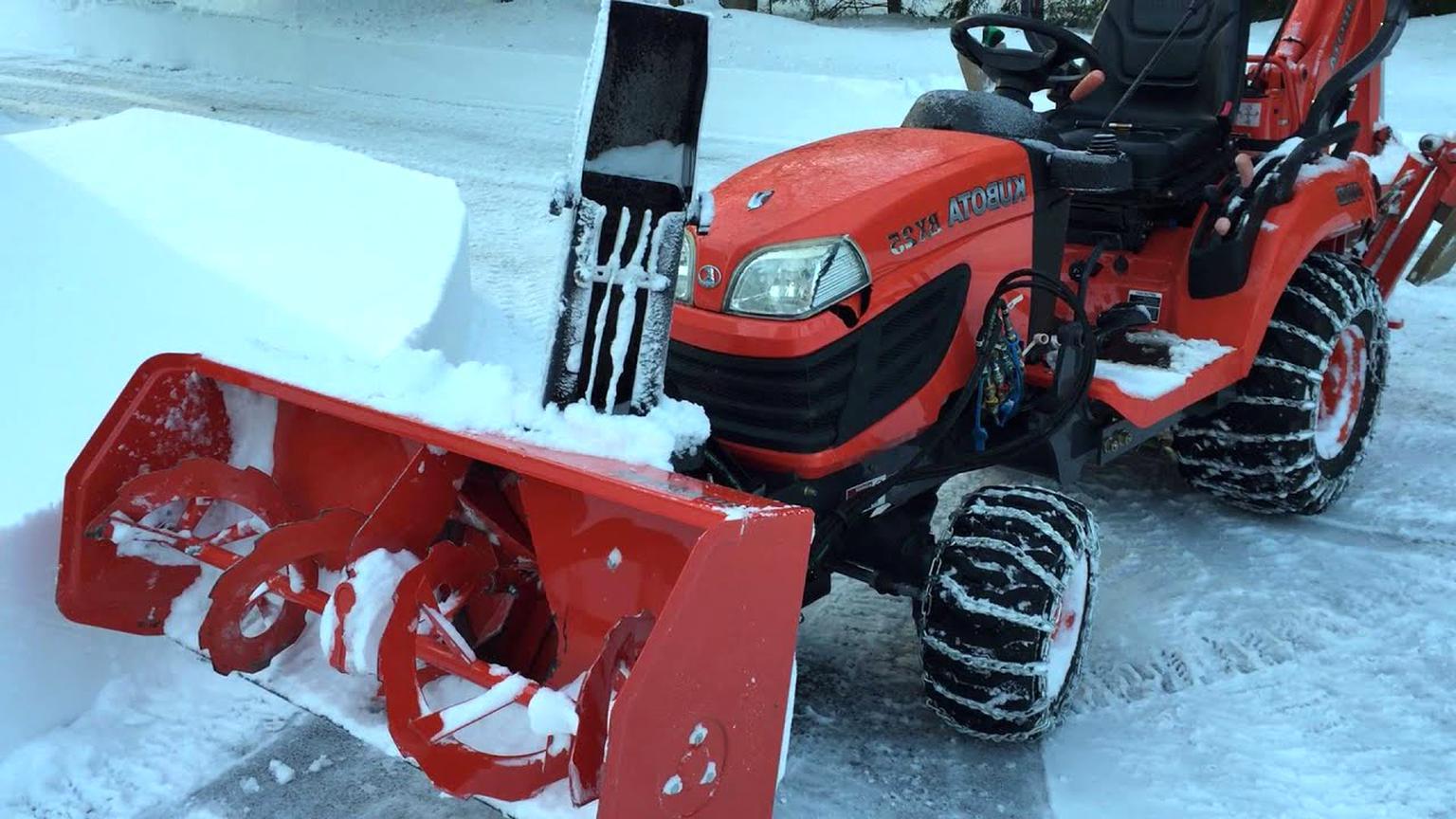 kubota tractor snowblower for sale