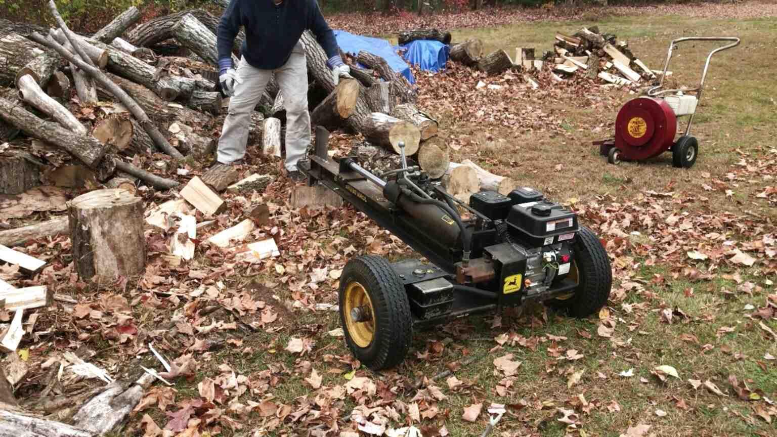 log splitter john deere for sale