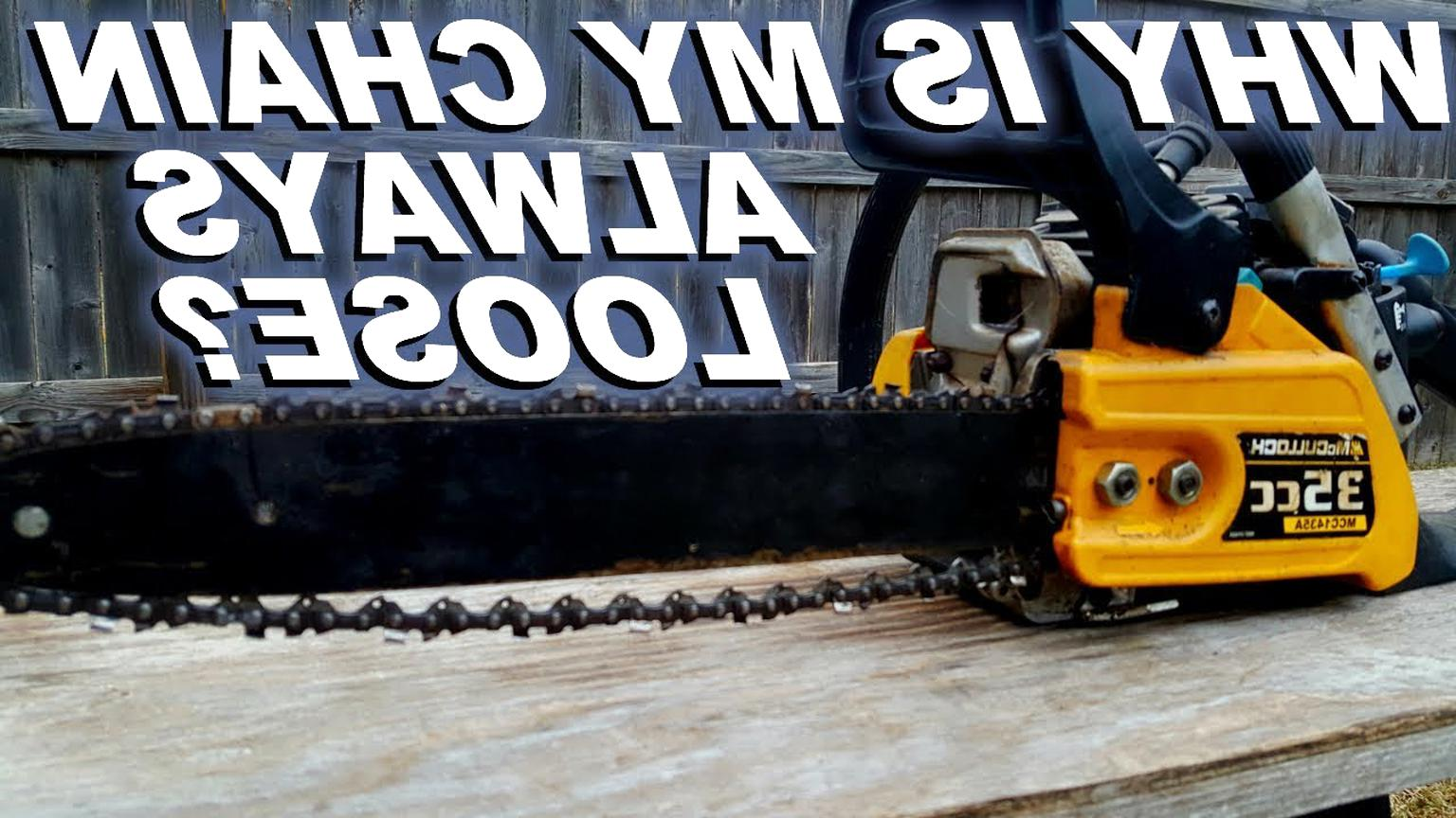 mcculloch chainsaw chain for sale