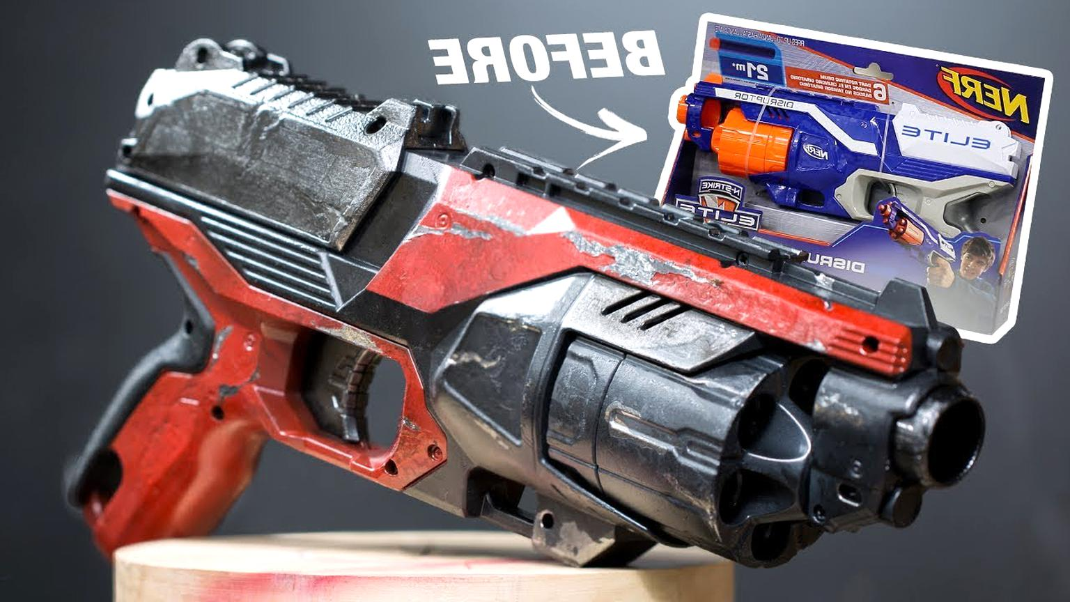 painted nerf gun for sale
