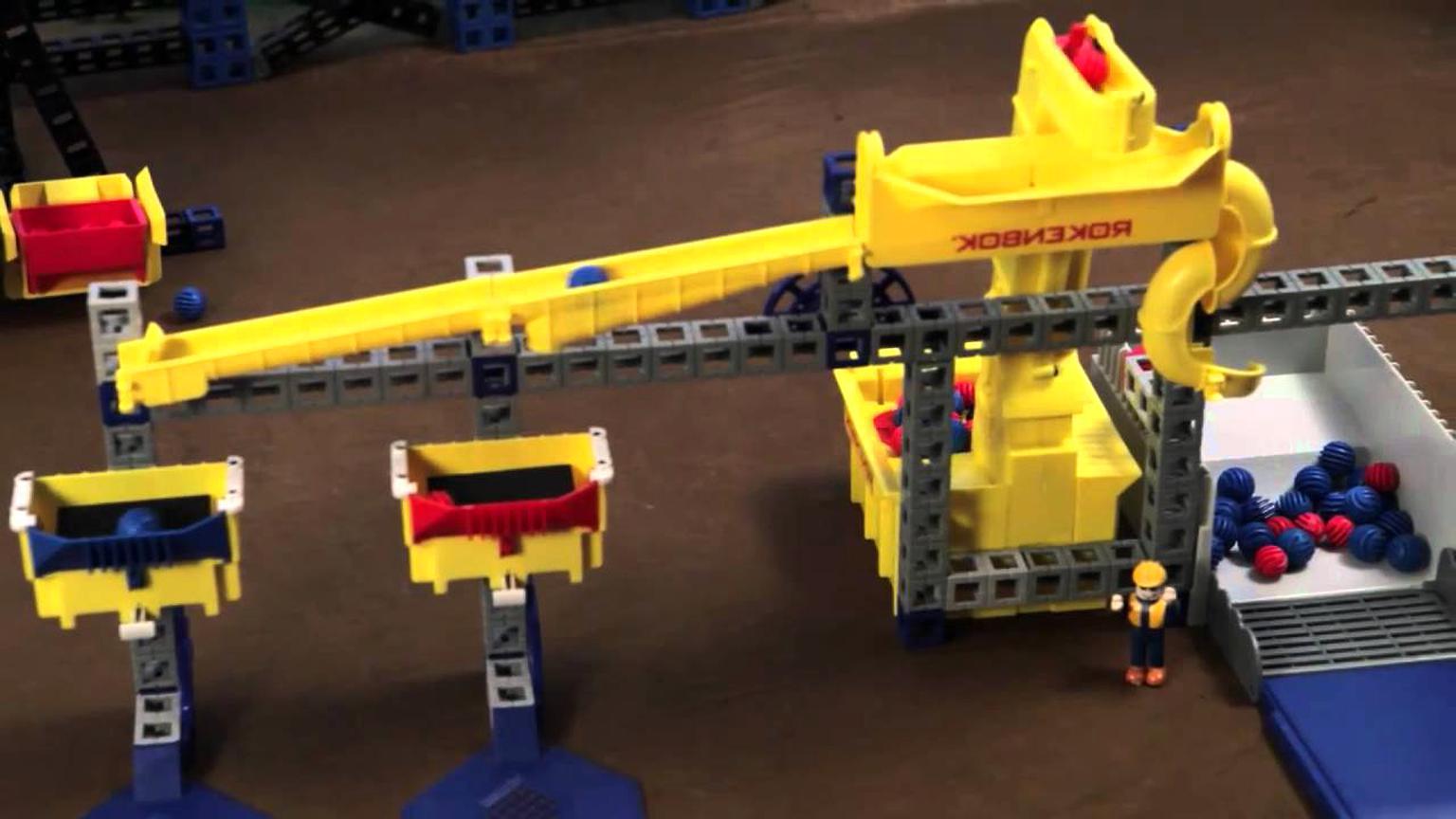 Rokenbok Motorized Ball Conveyor Double