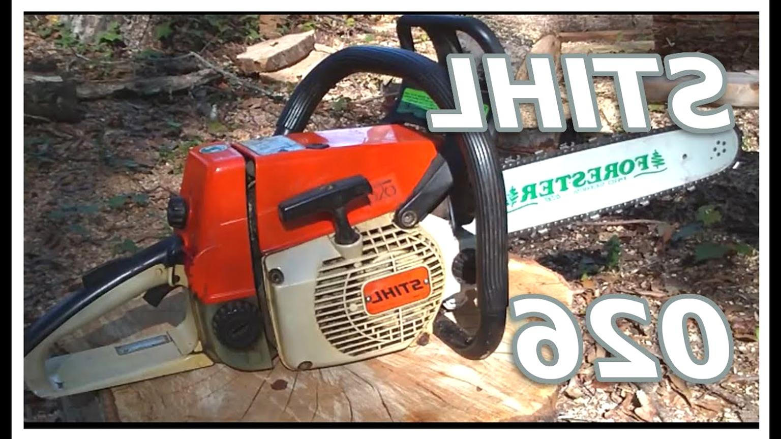 stihl chainsaw 026 for sale