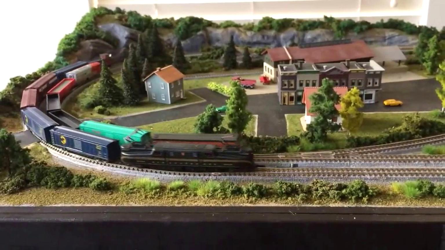 z scale layout for sale