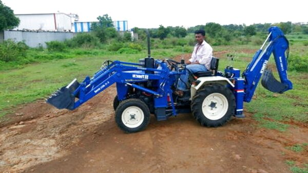 mini tractor backhoe for sale