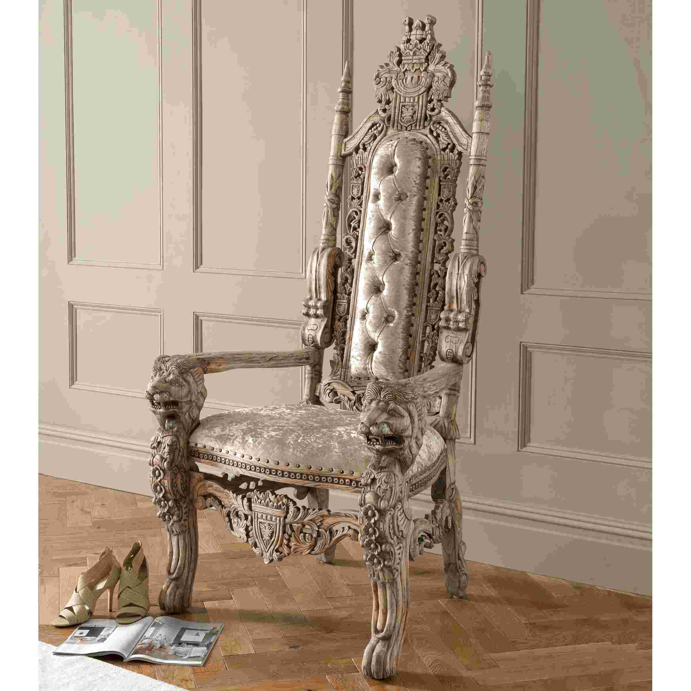 antique throne chair for sale