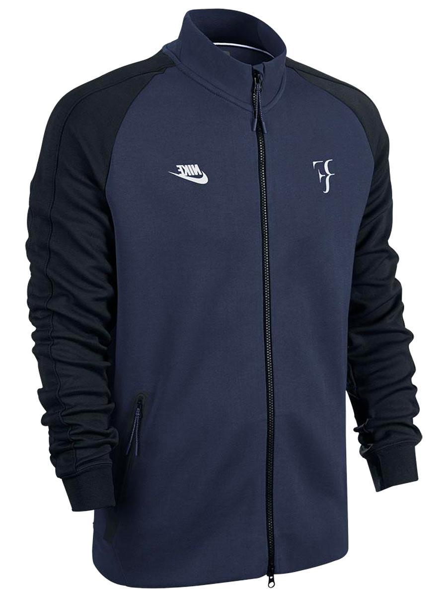 Nike Court Hypershield Rf Roger Federer Jacket White Blue Ah8385 100 Men S Xs Xl Wonderlust In
