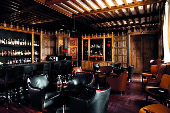 oak bar for sale