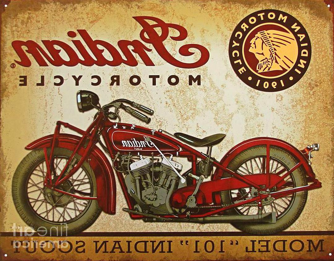 Indian Motorcycle Advertising For Sale Only 2 Left At 60