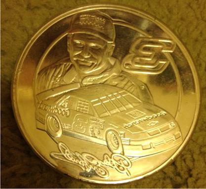 dale earnhardt coin for sale