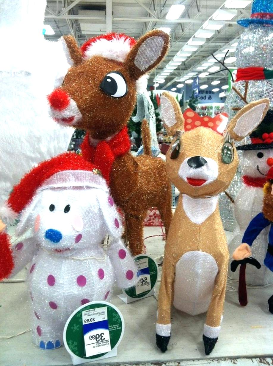 Rudolph Yard Decorations for sale