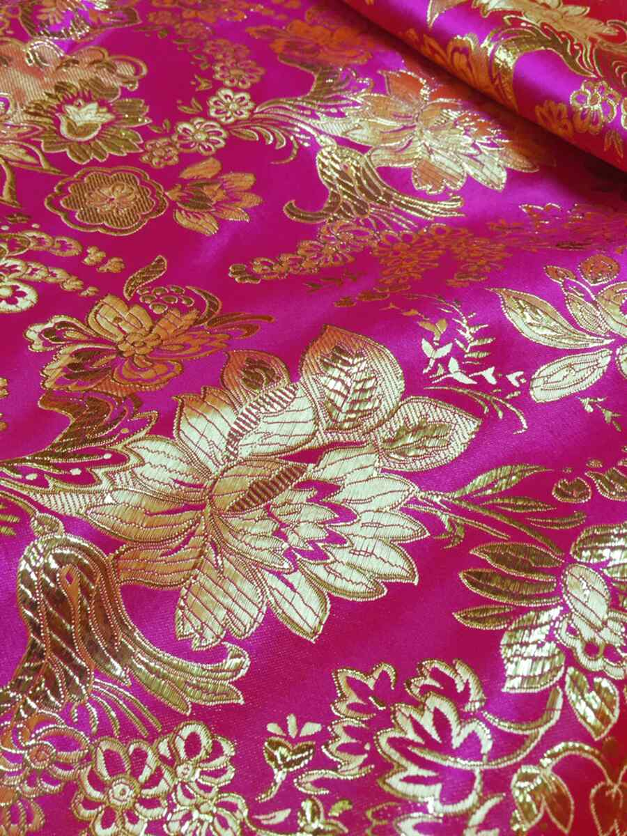 pink brocade tablecloth for sale