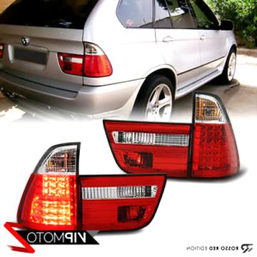 24 LED Chips Reverse Bulb WINE RED For 00-06 BMW X5 E53 Smoke Brake Tail Light