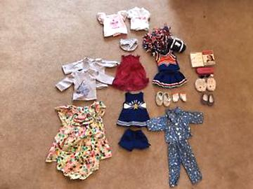 doll clothes lot for sale