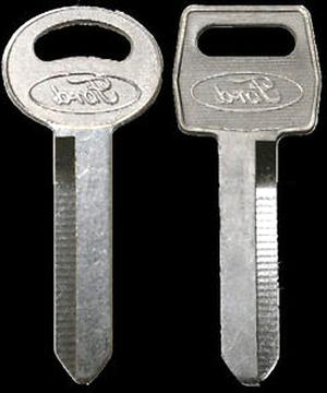FORD ORIGINAL SECONDARY KEY BLANK STRATTEC 321202 PACK OF 10