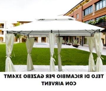 VERDELOOK Ombrellone in Alluminio e Poliestere 3x3 m Ecr/ù
