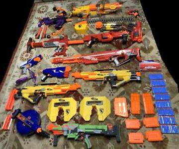 nerf darts nerf lot for sale