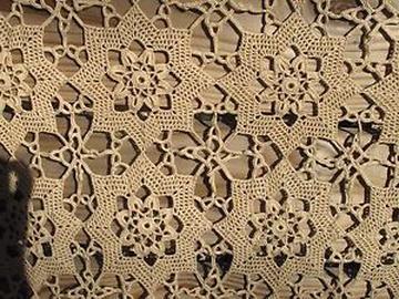 vintage crocheted bedspread for sale
