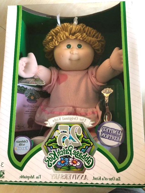 cabbage patch doll nib for sale