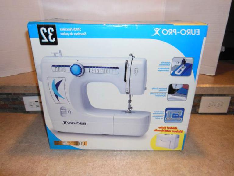 euro pro sewing machine for sale