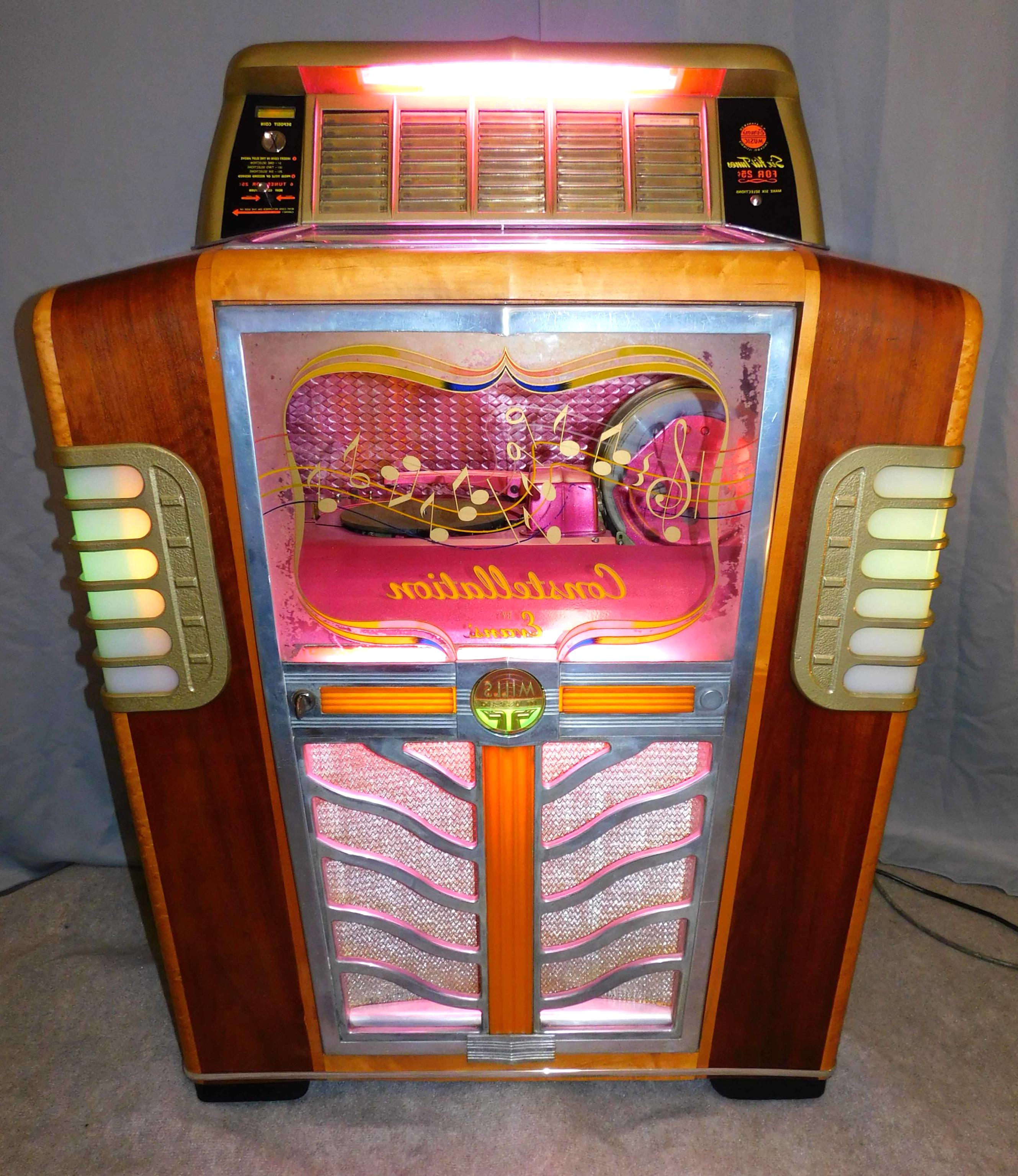Mills slot machine owl