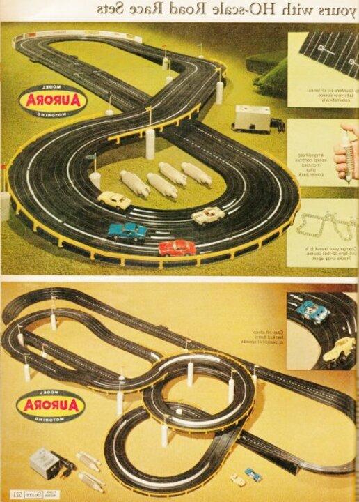 old slot car tracks for sale