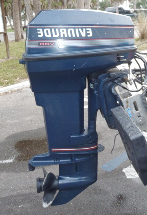 40 hp evinrude for sale