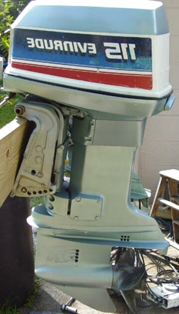 115 hp evinrude outboard for sale