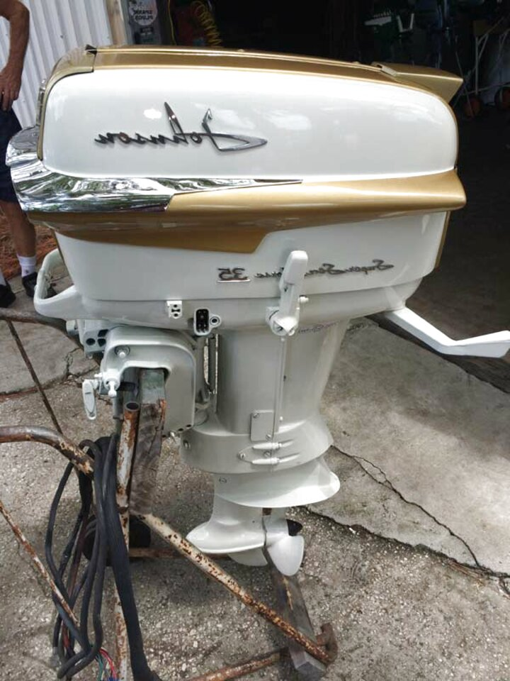 1958 johnson outboard motor for sale