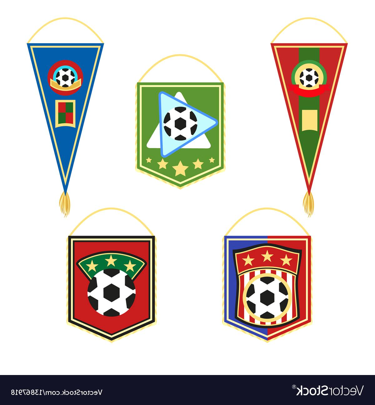 soccer pennants for sale