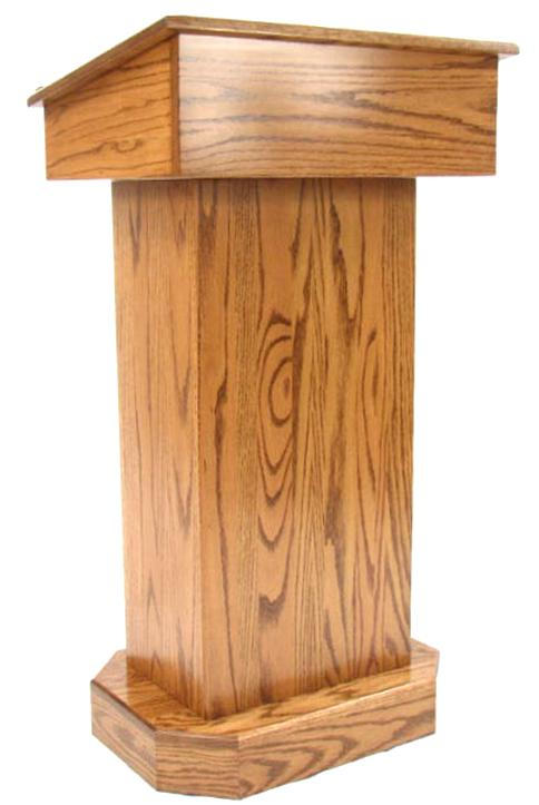 oak podium for sale