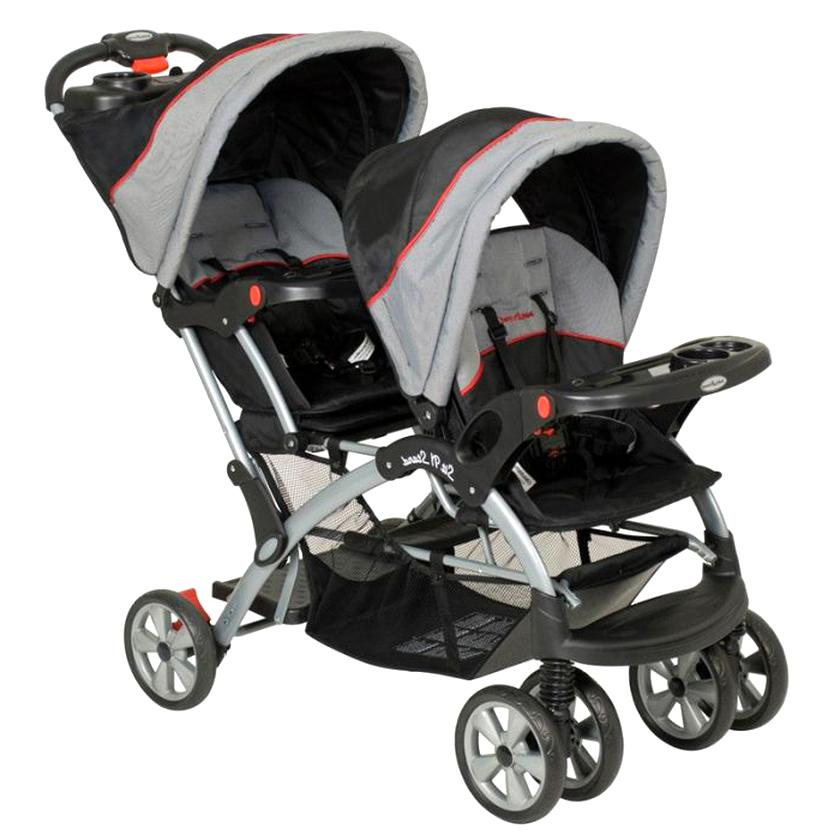 baby trend double stroller for sale