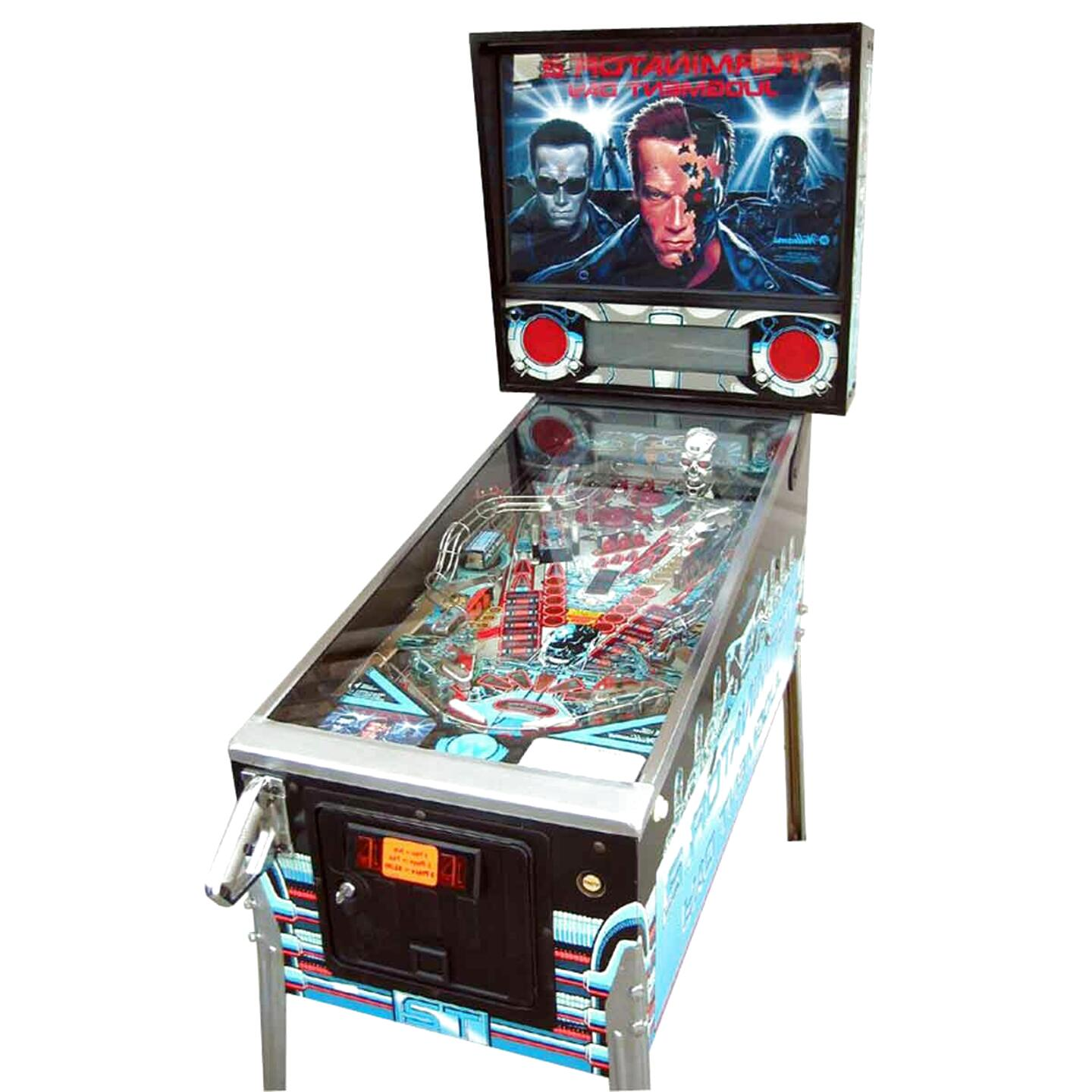 terminator pinball machine for sale