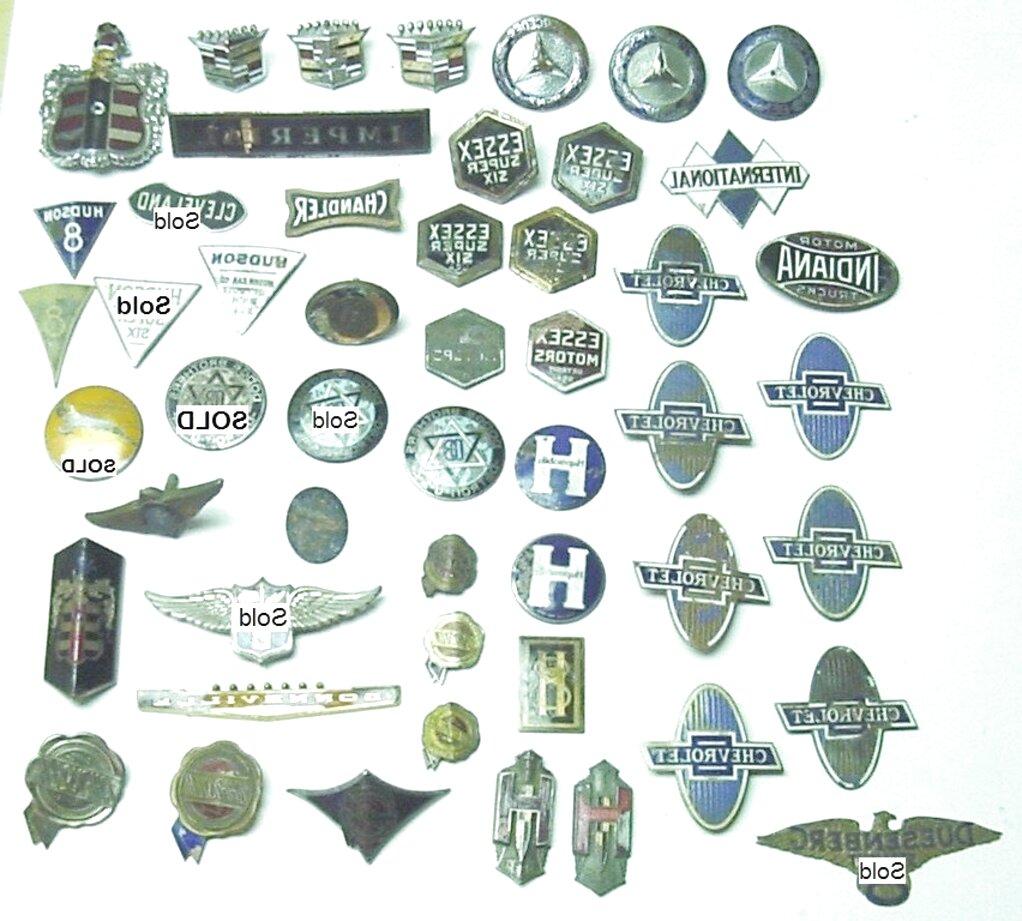 Old Car Emblems For Sale