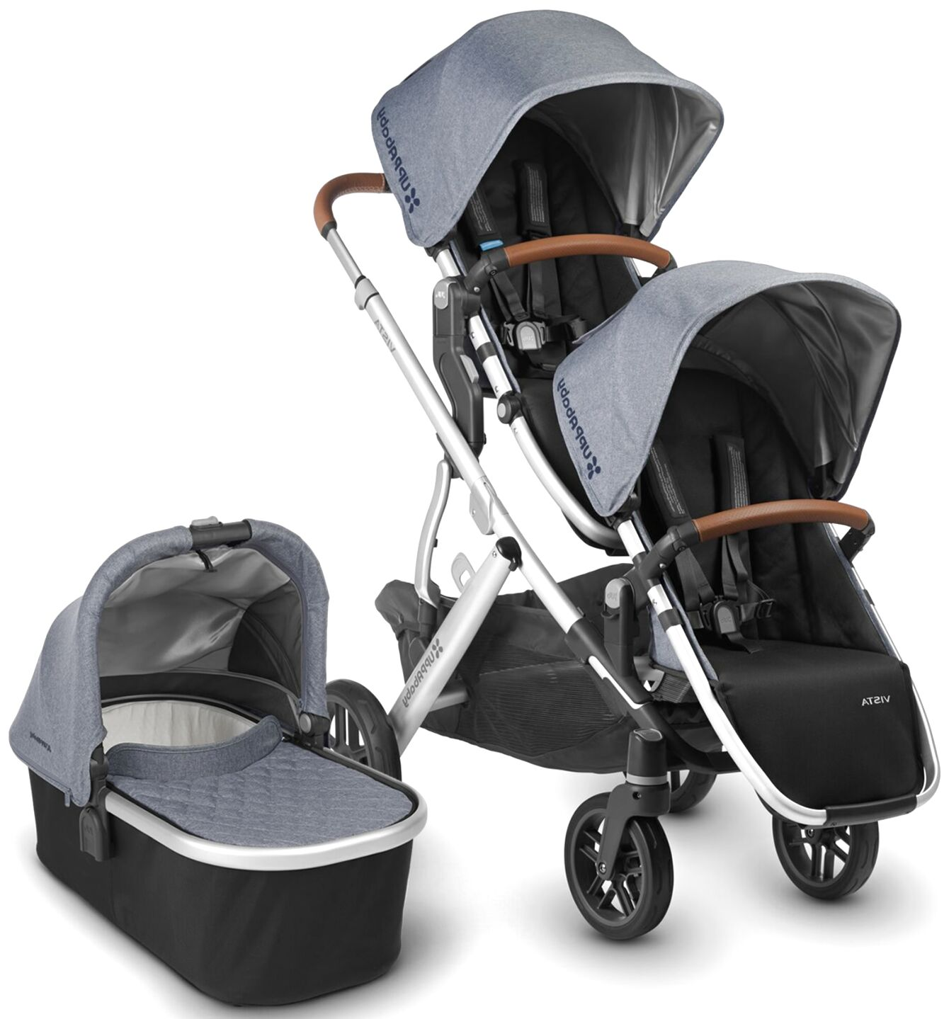 uppa baby double stroller for sale