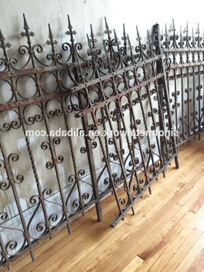 Antique Wrought Iron Fence For Sale Only 4 Left At 60