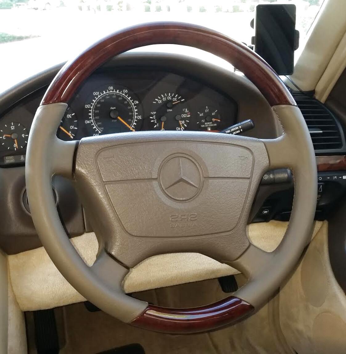 w140 steering wheel for sale