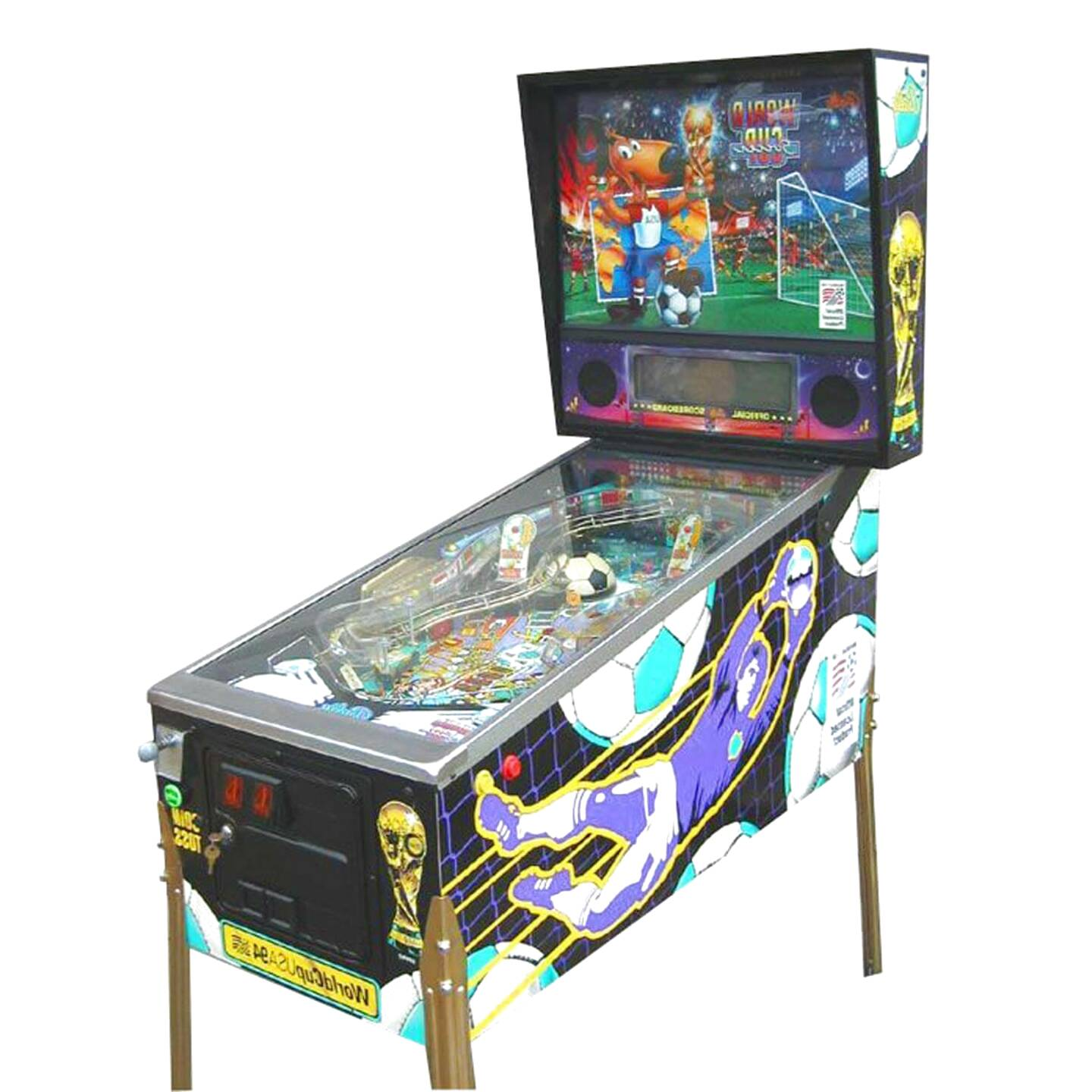 world cup soccer pinball for sale