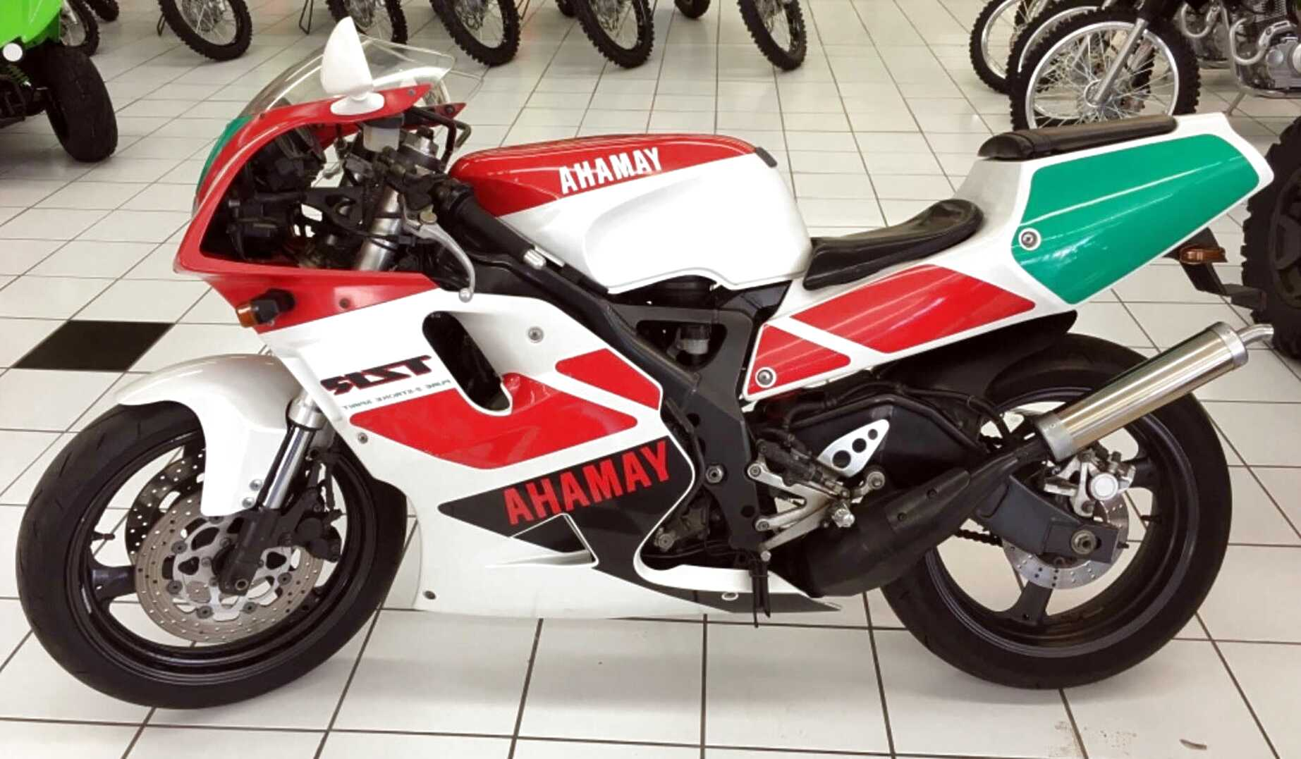 yamaha 2 stroke motorcycles for sale